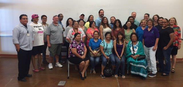 Lawrence Teachers at the Pascua Yaqui Education Center